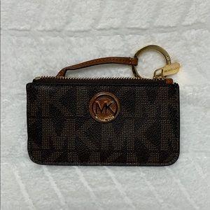 Michael Kors Leather Key Pouch